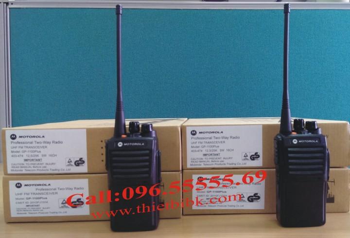Máy Bộ đàm Motorola GP 1100plus dùng cho bảo vệ