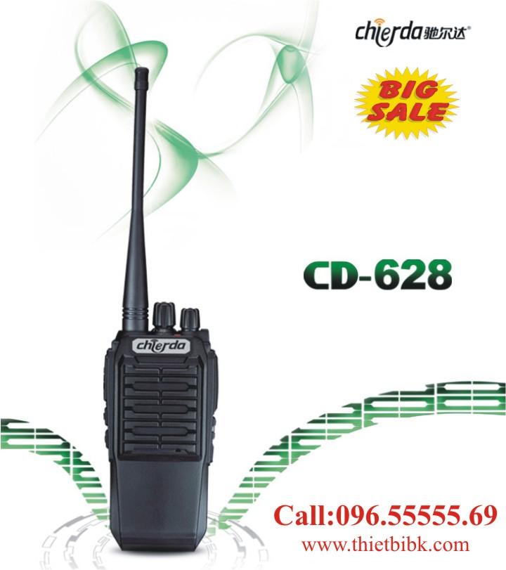 Bộ đàm Chierda CD-628 8W Long Range chống nước