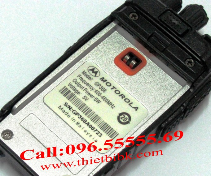 Máy bộ đàm Motorola GP-368
