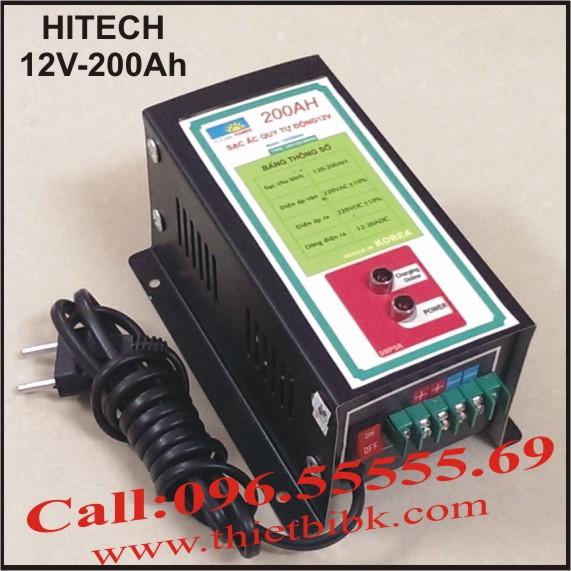 Bộ sạc ắc quy tự động Hitech Power 12V-200Ah