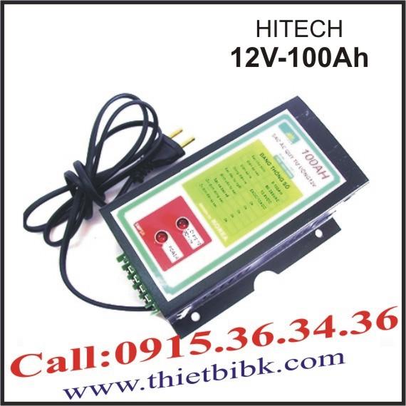 Bộ sạc ắc quy tự động Hitech Power 12V-100Ah