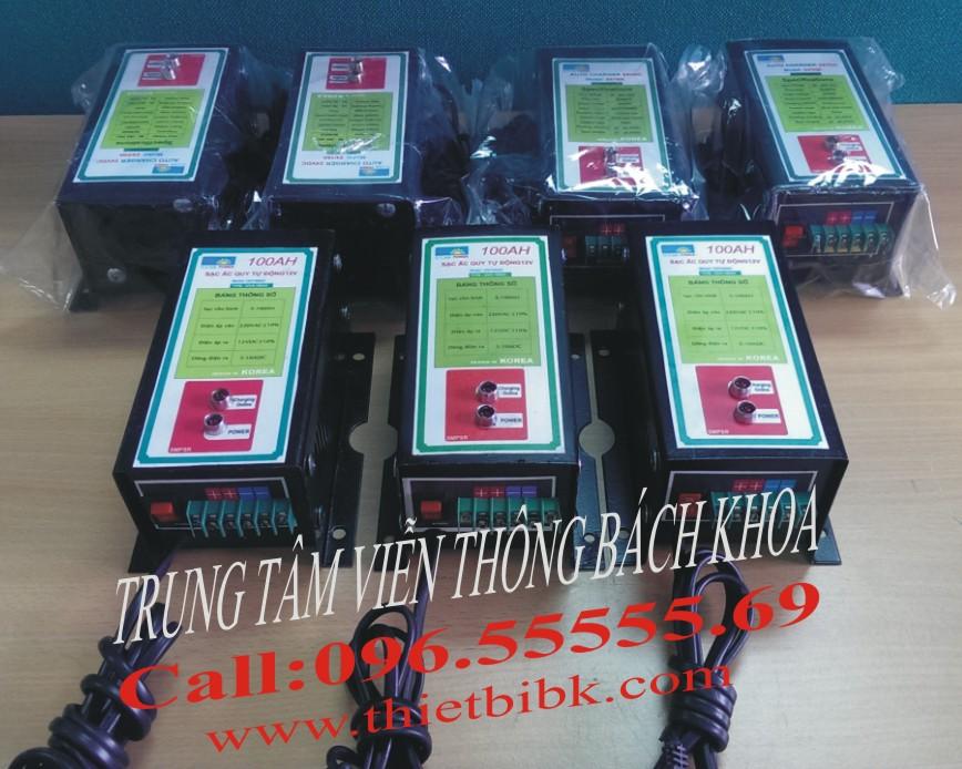 Máy sạc acquy tự động Hitech 12v-100Ah