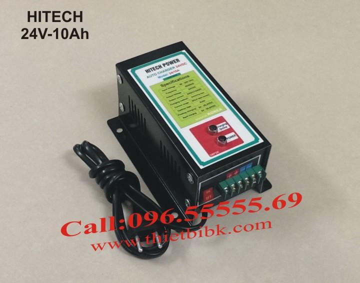 Bộ sạc acquy tự động Hitech Power 24V-10Ah sạc acquy dự phòng