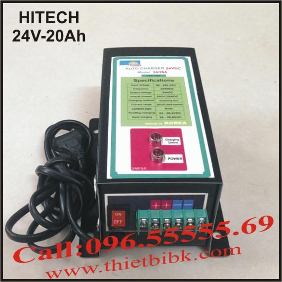 Bộ sạc ắc quy tự động Hitech Power 24V-20Ah