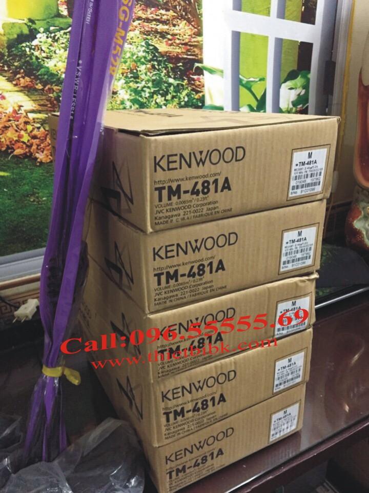 bộ đàm Taxi Kenwood TM-481A-UHF