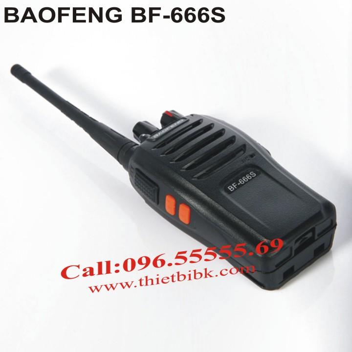 Máy bộ đàm Baofeng BF-666s giá rẻ, chất lượng tốt