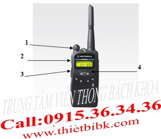 Hướng dẫn sử dụng máy bộ đàm Motorola GP-2000s
