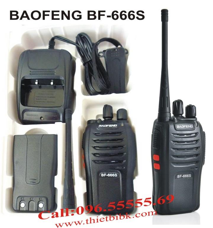 máy bộ đàm Baofeng BF-666s full box