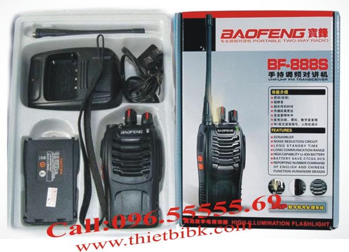 Máy bộ đàm Baofeng BF-888s - trọn bộ