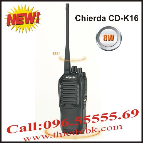 Máy bộ đàm Chierda CD-K16 công suất 8W