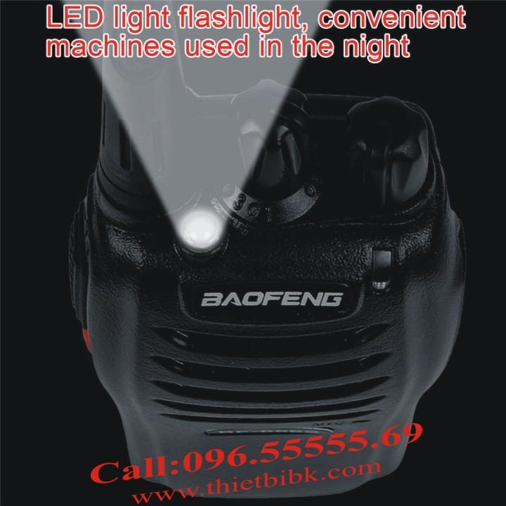 Máy bộ đàm Baofeng BF-666s có đèn pin