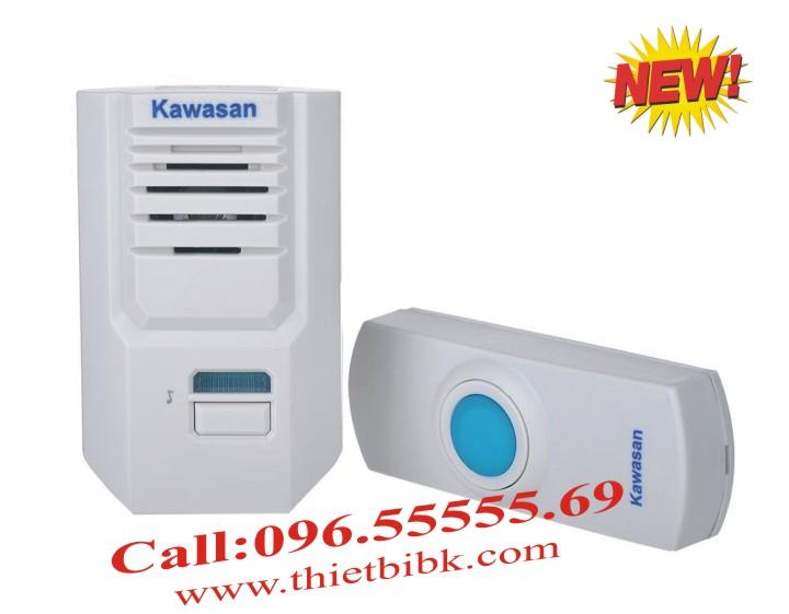 Chuông cửa không dây Kawa DB667 điều chỉnh âm lượng chuông