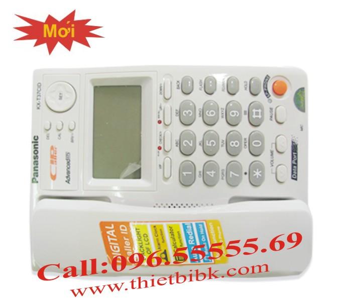 Điện thoại để bàn Panasonic KX-T37CID có màn hình