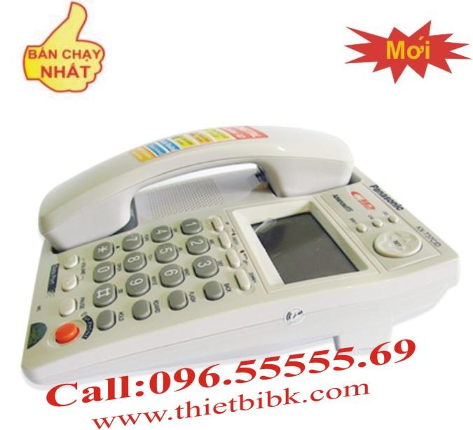 Điện thoại để bàn Panasonic KX-T37CID thiết kế thông minh