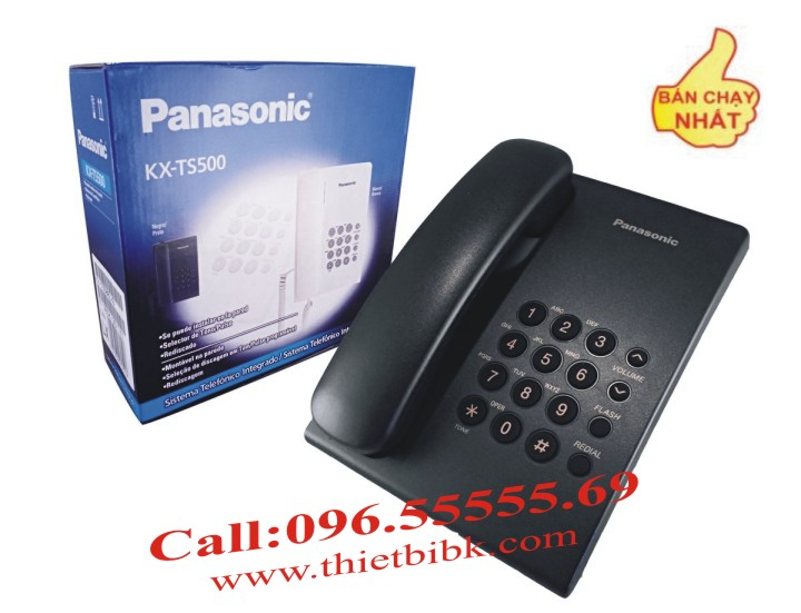 Điện thoại để bàn Panasonic KX-TS500 bán chạy nhất