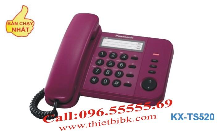 Điện thoại để bàn Panasonic KX-TS520 cho gia đình