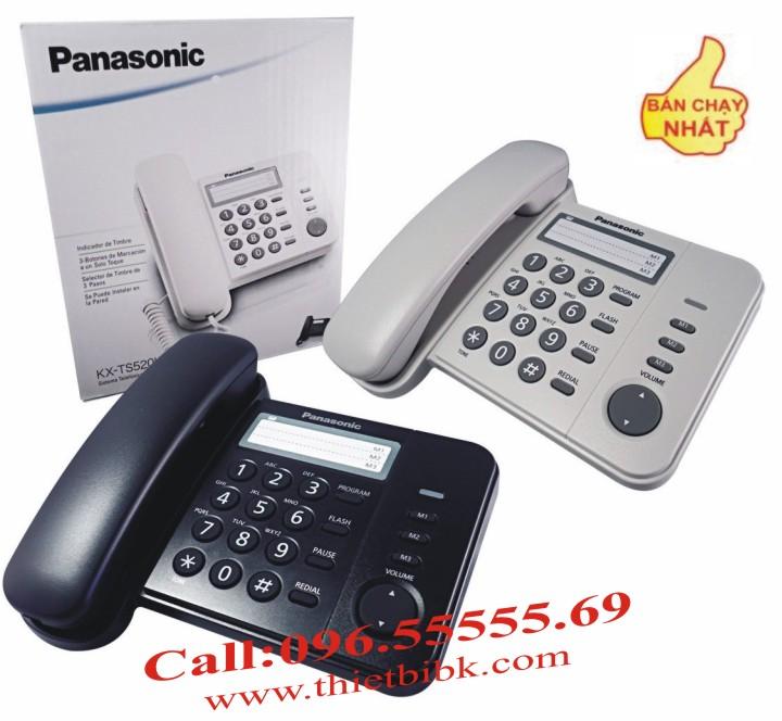 Điện thoại để bàn Panasonic KX-TS520 cho văn phòng công ty