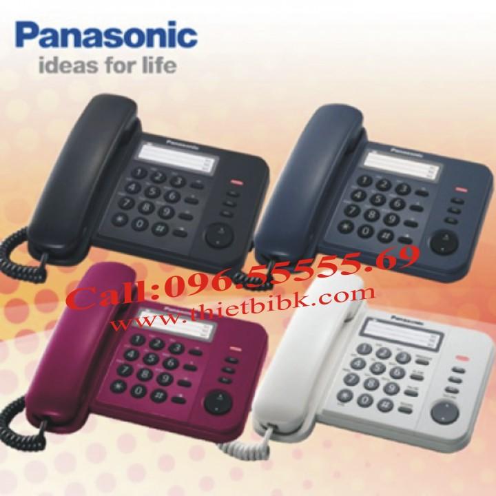 Điện thoại để bàn Panasonic KX-TS520 thiết kế nhiều màu sắc
