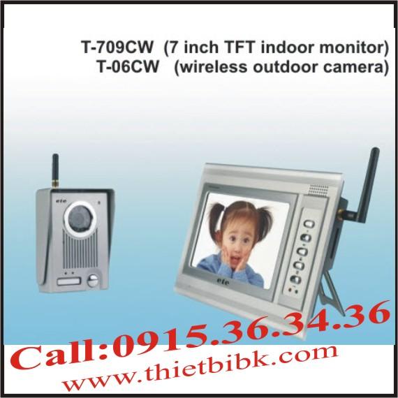 Chuông cửa hình mầu không dây ETE T-709CW