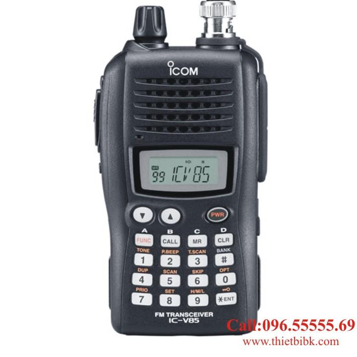 Máy bộ đàm iCOM IC-V85 VHF-UHF dùng cho khu công nghiệp