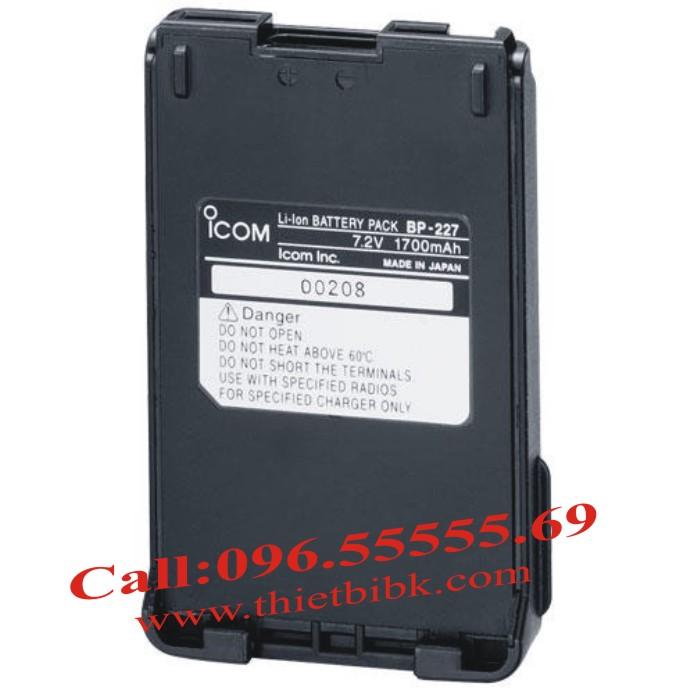 Máy bộ đàm iCOM IC-V85 VHF-UHF dùng pin BP227-1700mAh