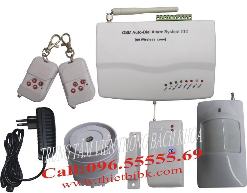Thiết bị báo động không dây dùng SIM GUARDSMAN GS-3500