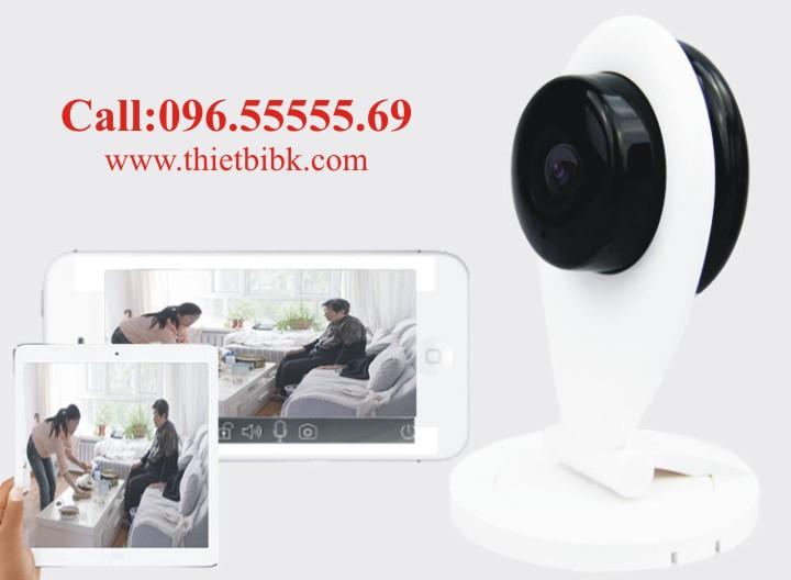 Camera IP không dây Wanscam Wifi HD96G6 Quan sát từ xa qua điện thoại, ipad