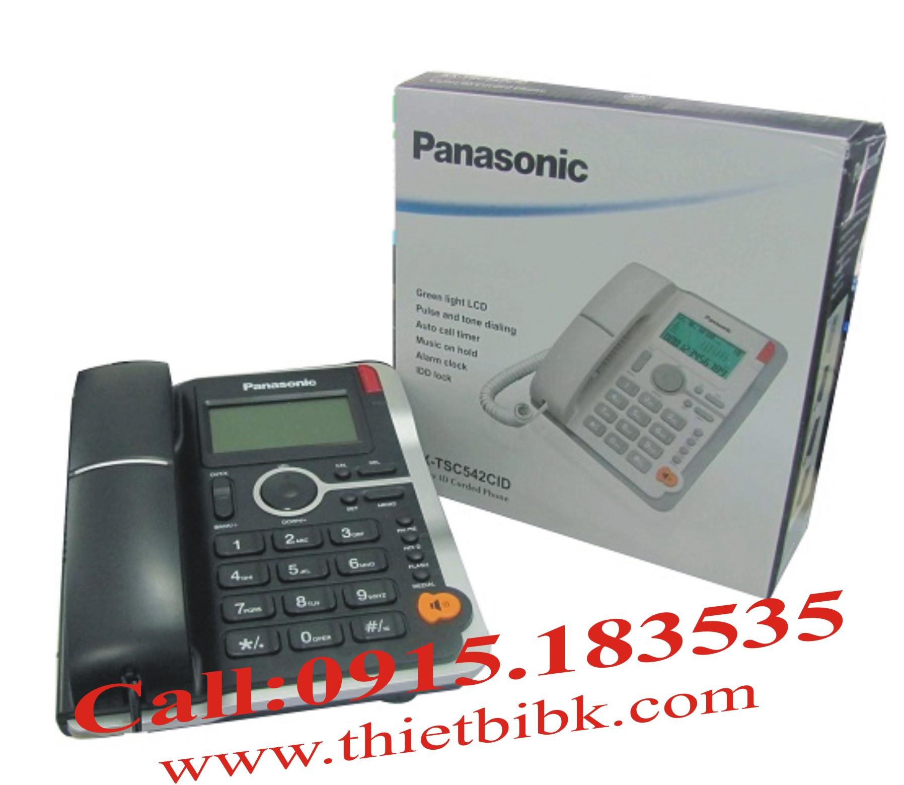 Điện thoại để bàn Panasonic KX-TSC -542CID