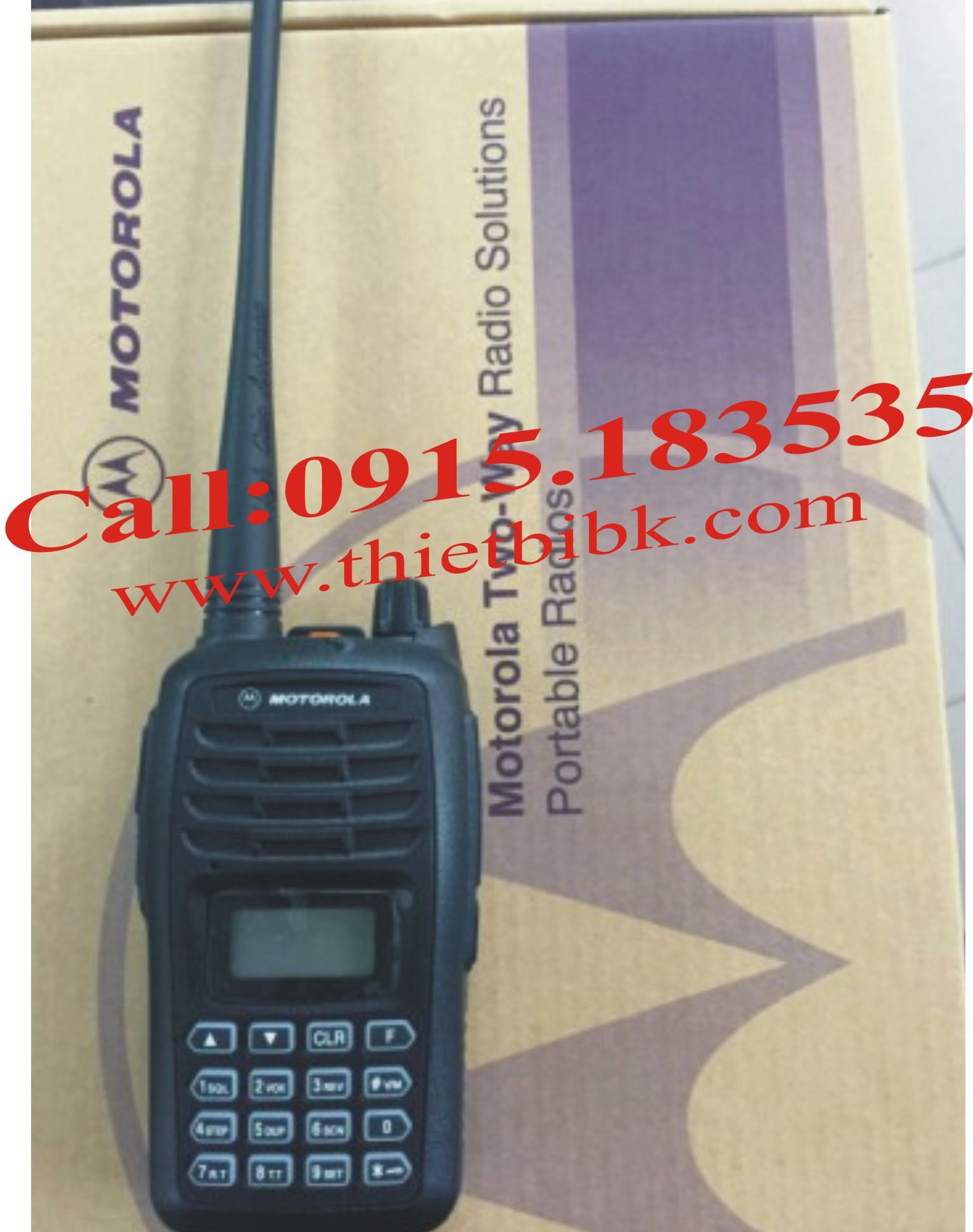 Máy bộ đàm Motorola GP-388Plus 199 kênh VHF-UHF