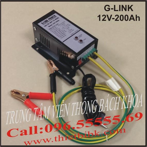 Bộ nạp ắc quy tự động G-Link Power 12V-200Ah
