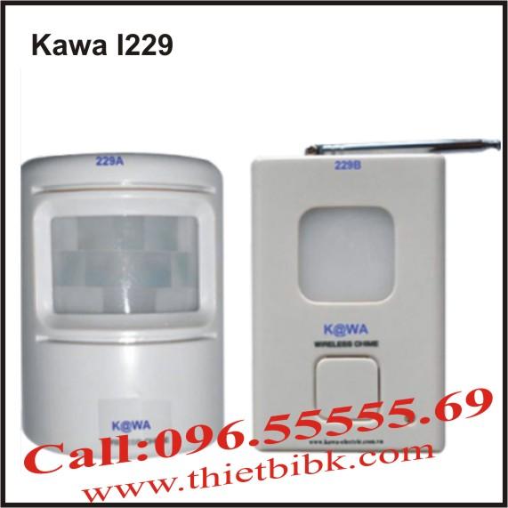 CHUÔNG BÁO KHÁCH CẢM ỨNG KAWA I229