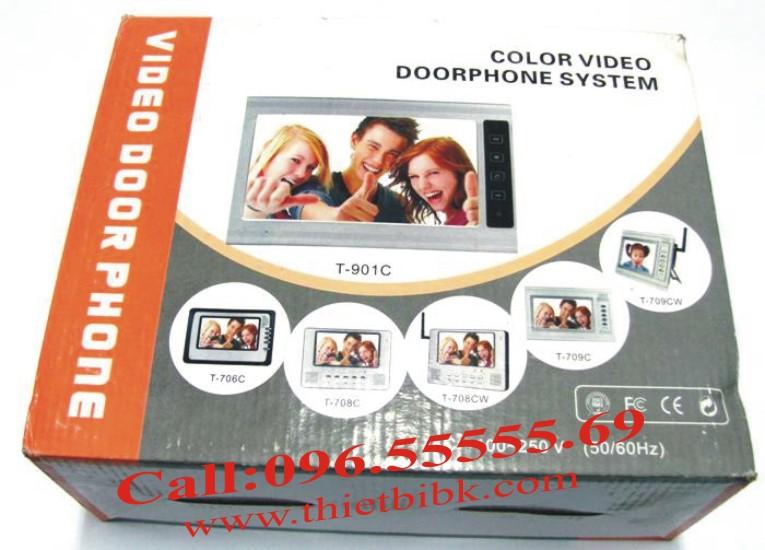 Chuông cửa hình Video Door Phone ETE T-901C