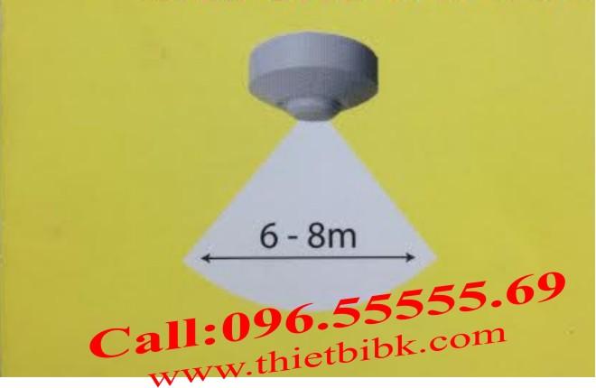 Công tắc cảm ứng vi sóng Kawa RS01 – Góc quét hình nón 360 độ