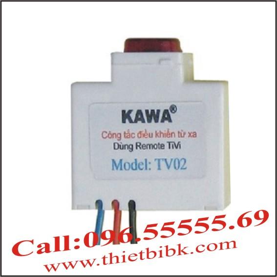 CÔNG TẮC ĐIỀU KHIỂN TỪ XA KAWA TV02