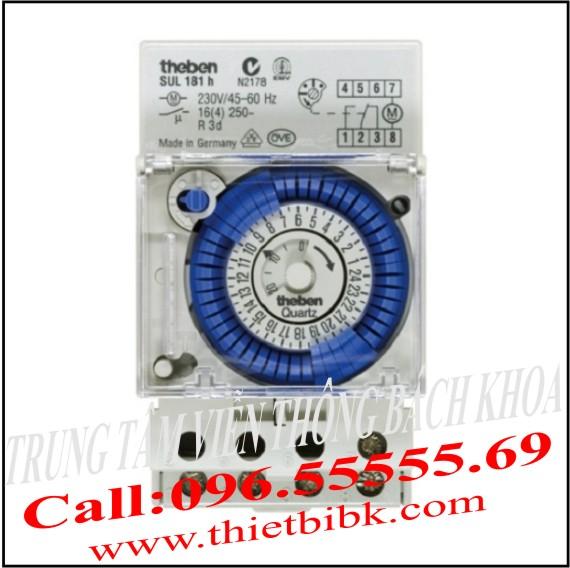 Công tắc thời gian Theben SUL 181H-24VDC