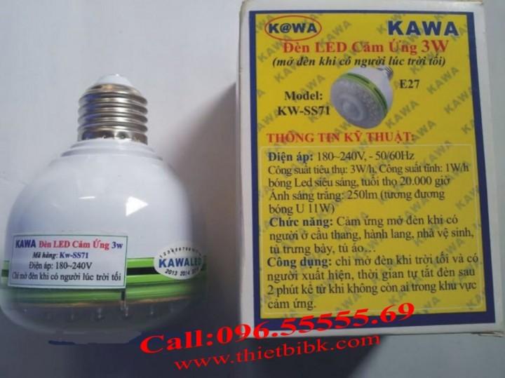 Đèn Led cảm ứng chuyển động Kawa SS71 3W