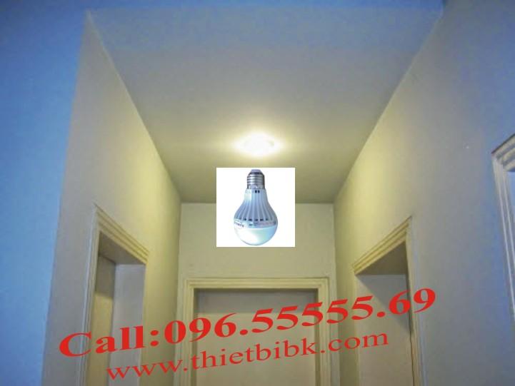 Đèn led cảm ứng âm thanh Kawa SB05 5W lắp trong phòng, hành lang, lối đi