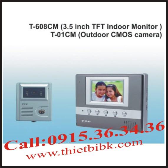 Chuông cửa hình có chụp ảnh ETE T-608CM