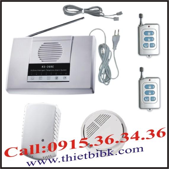 Bộ KIT báo khói & Gas không dây G-LINK 269IS-2