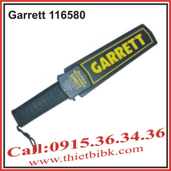 Máy dò kim loại cầm tay Garrett 1165180