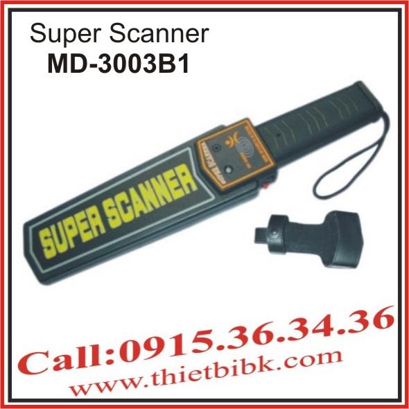 MÁY DÒ KIM LOẠI CẦM TAY SUPER SCANNER MD-3003B1 (LOẠI 1)