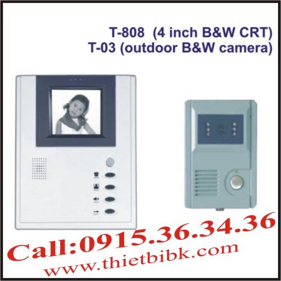 Chuông cửa hình Video Door Phone ETE T-808