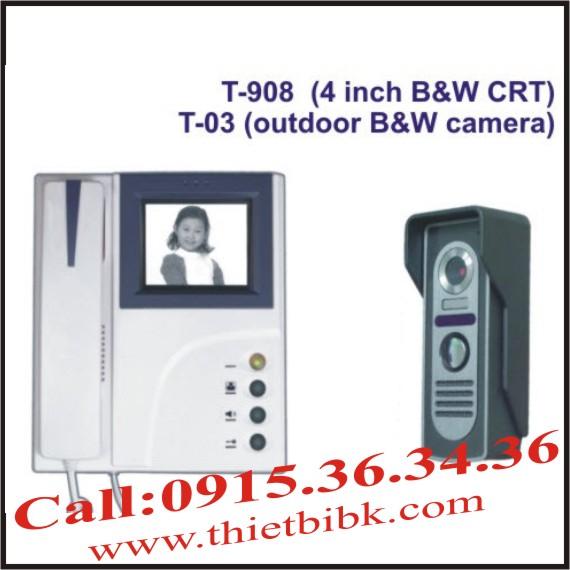CHUÔNG CỬA HÌNH VIDEO DOOR PHONE ETE T-908