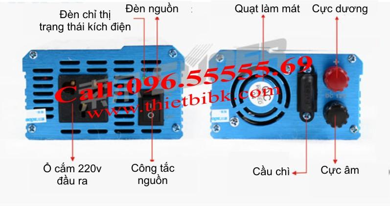 Máy đổi điện không sạc SUOER KDA-1000