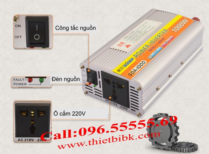 Ứng dụng của máy đổi điện không sạc SUOER SDA-1000