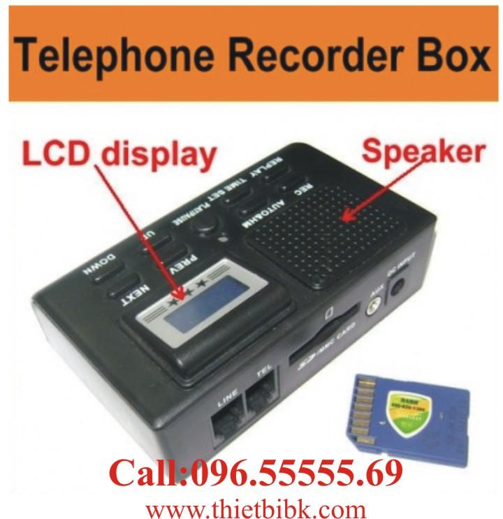 Box ghi âm điện thoại dùng thẻ nhớ Zibosoft TR70CX