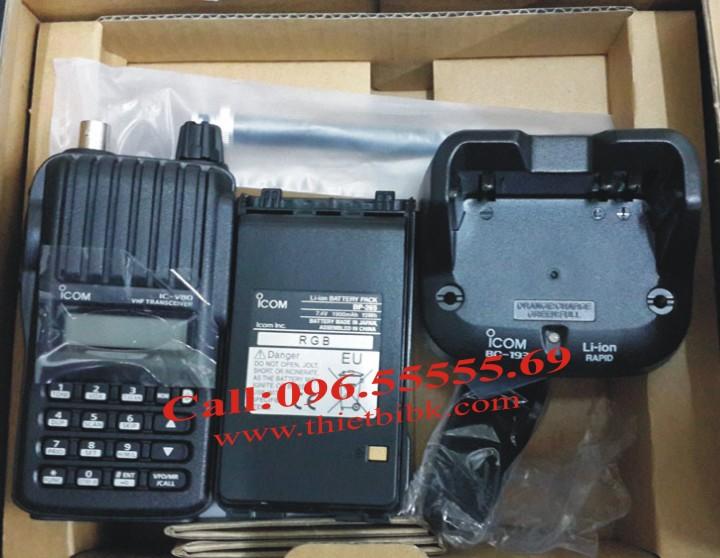 Bộ đàm iCOM IC-V80 VHF UHF dùng cho trường học, bệnh viện