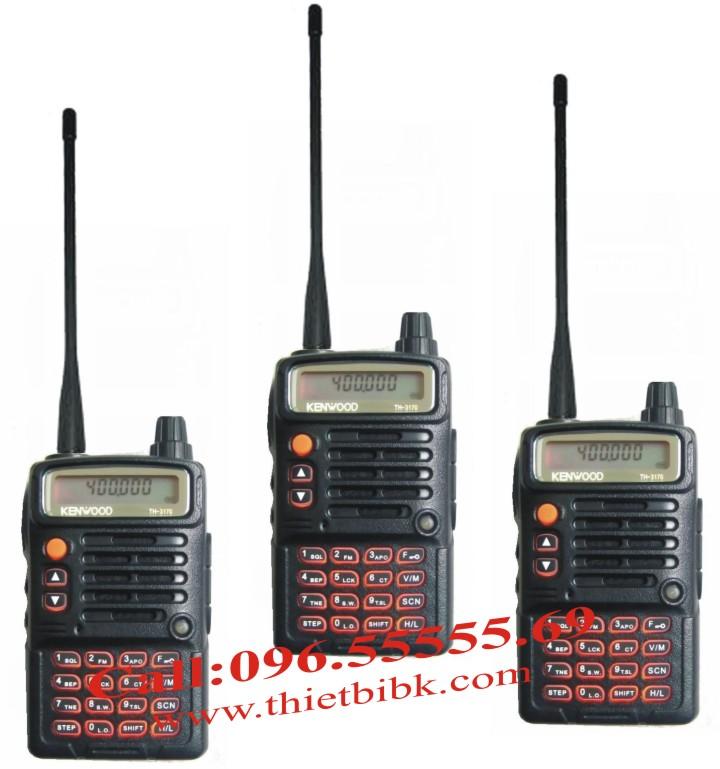 Bộ đàm Kenwood TH-3170 UHF dùng cho trung tâm thương mại, tòa nhà văn phòng