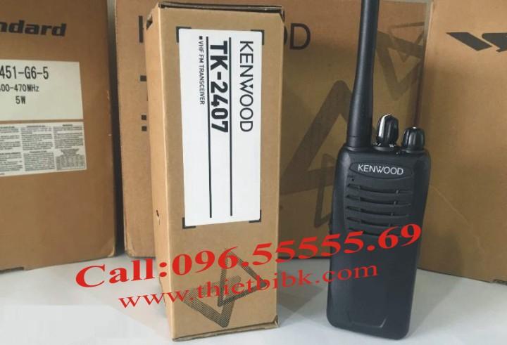 Bộ đàm Kenwood TK-2407 dùng cho công trình xây dựng