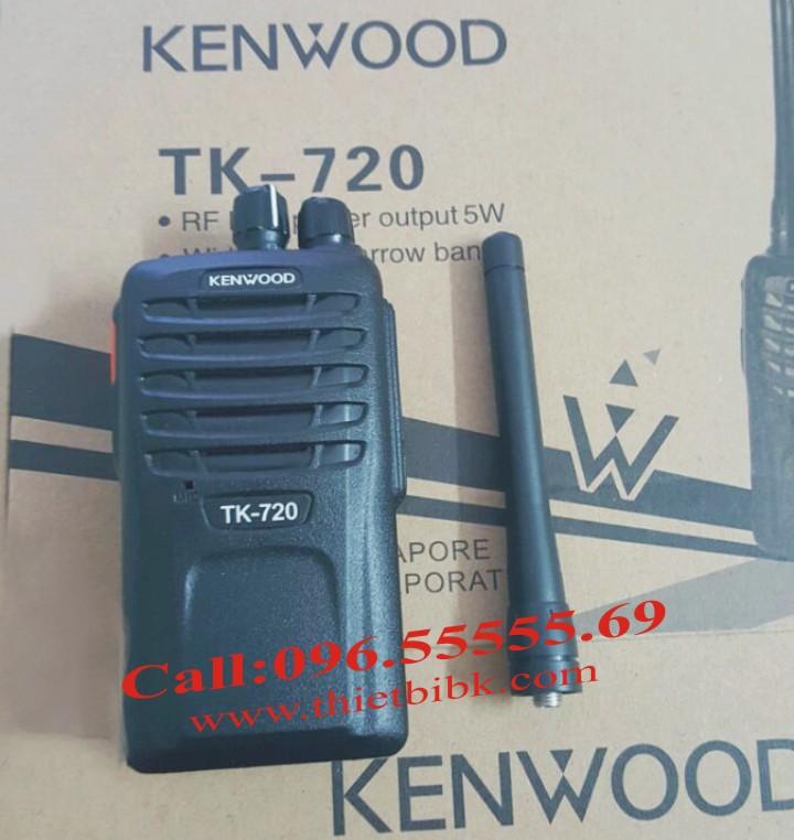 Bộ đàm Kenwood TK-720 dùng cho công trường xây dựng
